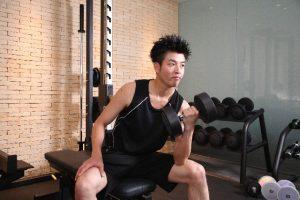 トレーニング男子