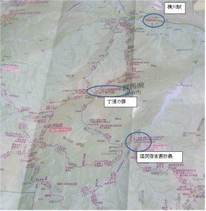 妙義山地図